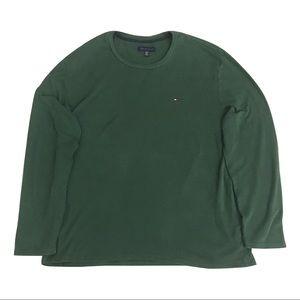 Tommy Hilfiger Green Crewneck Men's Sweater XL